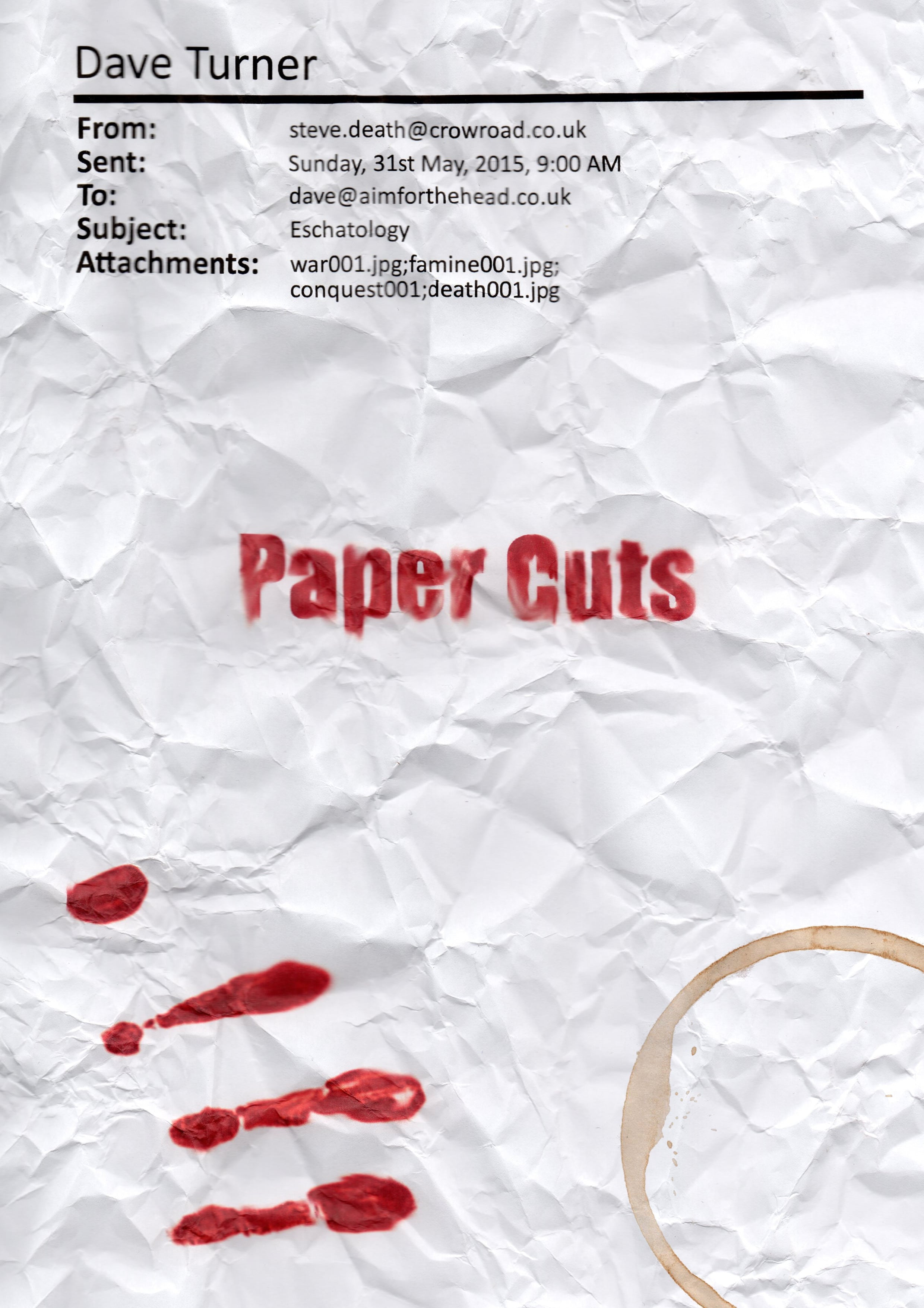 Paper Cuts Is In The Wild!
